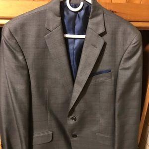 Men's 2-Pc. Suit - Charcoal Gray - Billy London UK